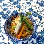 糸こんにゃくのおすすめレシピ「夏野菜のチャプチェ」!