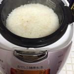 なでしこ炊飯器、白米ともちもち白米を炊飯して比較してみた【写真あり】