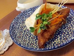 高野豆腐カツサンド