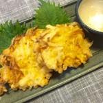 【本日のおつまみ】菊芋と新玉ねぎのかき揚げは最高の食べ方!