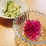 本日のおつまみレシピ「さっぱり野菜のおつまみマリネ」!